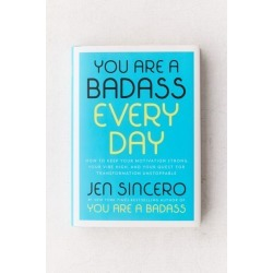 You Are A Bada* Every Day By Jen Sincero - Assorted at Urban Outfitters found on Bargain Bro India from Urban Outfitters (US) for $20.00