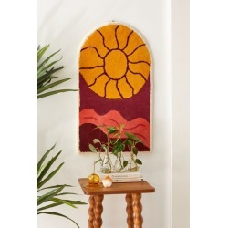 Sunset Tufted Wall Hanging found on Bargain Bro Philippines from Urban Outfitters (US) for $69.00