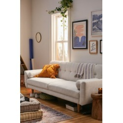 Cassie Tufted Convertible Sofa - Beige at Urban Outfitters