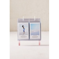 Mini Instax Acrylic Album Photo Frame - Pink at Urban Outfitters