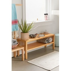 Marte Low Storage Shelf - Brown at Urban Outfitters