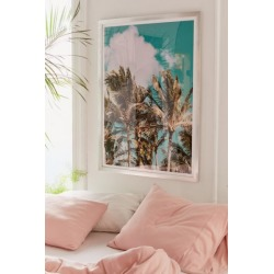 Leah Flores Palm Trees and Island Breeze Art Print found on Bargain Bro Philippines from Urban Outfitters (US) for $199.00