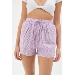 Urban Renewal Remnants Longline Gingham Short found on Bargain Bro India from Urban Outfitters (US) for $39.00