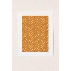Becky Bailey Big Arrows In Yellow Art Print
