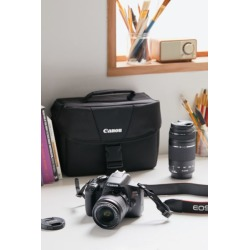Canon EOS Rebel T6 Double Zoom Lens DSLR Camera Kit - Black at Urban Outfitters