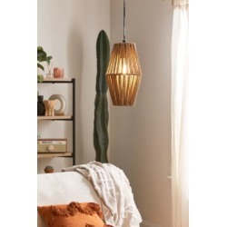 Ryanne Rope Pendant Light - Brown at Urban Outfitters