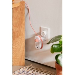 Quirky Contort Power™ Surge Protector Power Strip - White at Urban Outfitters