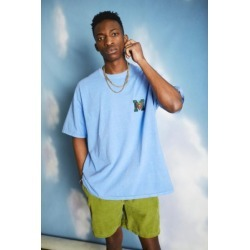 UO Blue Embroidered Varsity Patch Tee found on Bargain Bro India from Urban Outfitters (US) for $39.00