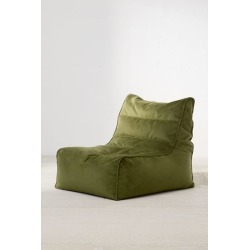Charley Velvet Lounge Chair - Green at Urban Outfitters