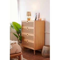 Marte Tall Dresser - Brown at Urban Outfitters