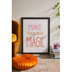 June Journal Make Your Own Magic Art Print found on Bargain Bro from Urban Outfitters (US) for USD $196.84