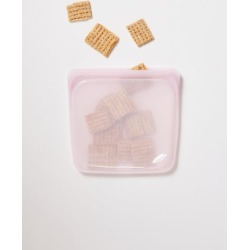 Stasher Medium Reusable Silicone Sandwich Bag - Pink at Urban Outfitters