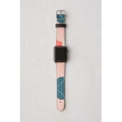 Casetify X Poketo Coral Reef Apple Watch Strap - Pink S at Urban Outfitters