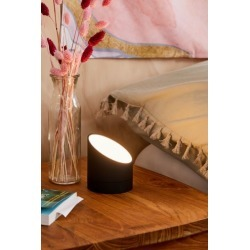 Gingko Edge Light Alarm Clock - Black at Urban Outfitters
