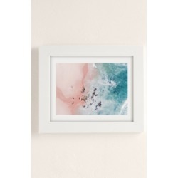 Ingrid Beddoes Sea Bliss Art Print - White 18X24 at Urban Outfitters found on Bargain Bro Philippines from Urban Outfitters (US) for $89.00