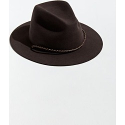 Brixton Freeport Fedora - Brown L at Urban Outfitters