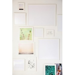 White Matte Art Print Frame found on Bargain Bro Philippines from Urban Outfitters (US) for $49.00