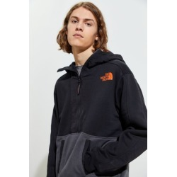 The North Face Graphic Half-Zip Hoodie Sweatshirt - Black S at Urban Outfitters