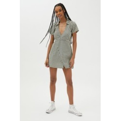 Motel Mini Wrap Dress found on MODAPINS from Urban Outfitters (US) for USD $29.99