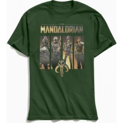 Star Wars Mandalorian Tee - Green S at Urban Outfitters