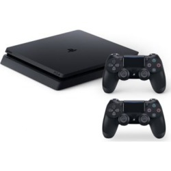 PlayStation 4 Slim 1TB Console + Controller Bundle - Black at Urban Outfitters