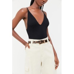 Covered Print Belt - Animal L at Urban Outfitters