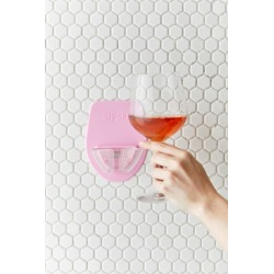 Sipski Shower Wine Glass Holder - Pink at Urban Outfitters
