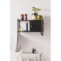 Wesley Wall Cabinet - Black at Urban Outfitters