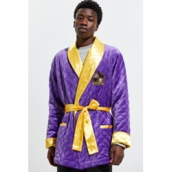Underboss X NBALAB Los Angeles Lakers Robe - Purple L/xl at Urban Outfitters