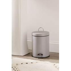 Round Top Step Trash Can