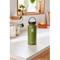 Hydro Flask Wide Mouth 32 oz Water Bottle - Green at Urban Outfitters