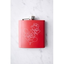 Red Rose Flask - Red at Urban Outfitters