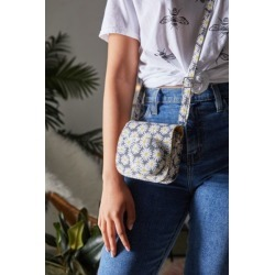Canvas Instax Mini 8/9 Camera Bag found on Bargain Bro Philippines from Urban Outfitters (US) for $24.99