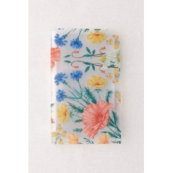 Frosted Floral Print Instax Mini Photo Album - Beige at Urban Outfitters