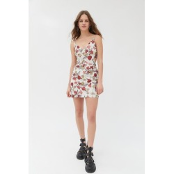 Keepsake Floral Mini Dress