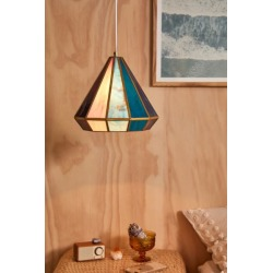 Gabriella Stained Glass Pendant Light - Assorted at Urban Outfitters
