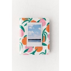 Instax Patterned Photo Album - Orange at Urban Outfitters
