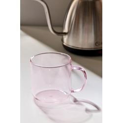HAY Borosilicate Glass Mug - Pink at Urban Outfitters