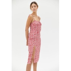 Motel Lotie Printed Tie-Shoulder Midi Dress found on MODAPINS from Urban Outfitters (US) for USD $69.00