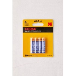 Kodak Max AAA Battery - Set Of 4 - Yellow at Urban Outfitters
