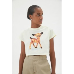 Fiorucci Deer Boxy Tee found on MODAPINS from Urban Outfitters (US) for USD $100.00