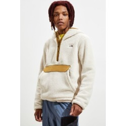 The North Face Campshire Sherpa Hoodie Sweatshirt - White S at Urban Outfitters