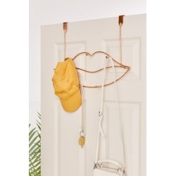 Lips Metal Over-The-Door Multi-Hook - Metallic at Urban Outfitters found on Bargain Bro India from Urban Outfitters (US) for $29.00