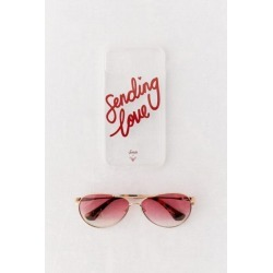 Sonix X Charlie's Angels UO Exclusive Sending Love iPhone Case And Sunglasses Bundle - iPhone 11 at Urban Outfitters