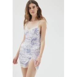 Motel Coti Lace Trim Mini Slip Dress found on MODAPINS from Urban Outfitters (US) for USD $69.00