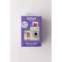 Fujifilm LiPlay Instax Mini Digital Instant Camera Bundle - White at Urban Outfitters