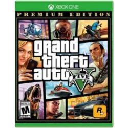 Xbox One Grand Theft Auto: V Premium Online Edition Video Game - Assorted ALL at Urban Outfitters