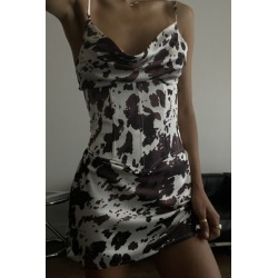 Lioness Heartbreaker Satin Mini Dress found on MODAPINS from Urban Outfitters (US) for USD $99.00