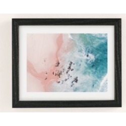 Ingrid Beddoes Sea Bliss Art Print - Grey 8X10 at Urban Outfitters found on Bargain Bro Philippines from Urban Outfitters (US) for $39.00