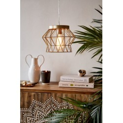 Talia Caged Pendant Light - Bronze at Urban Outfitters